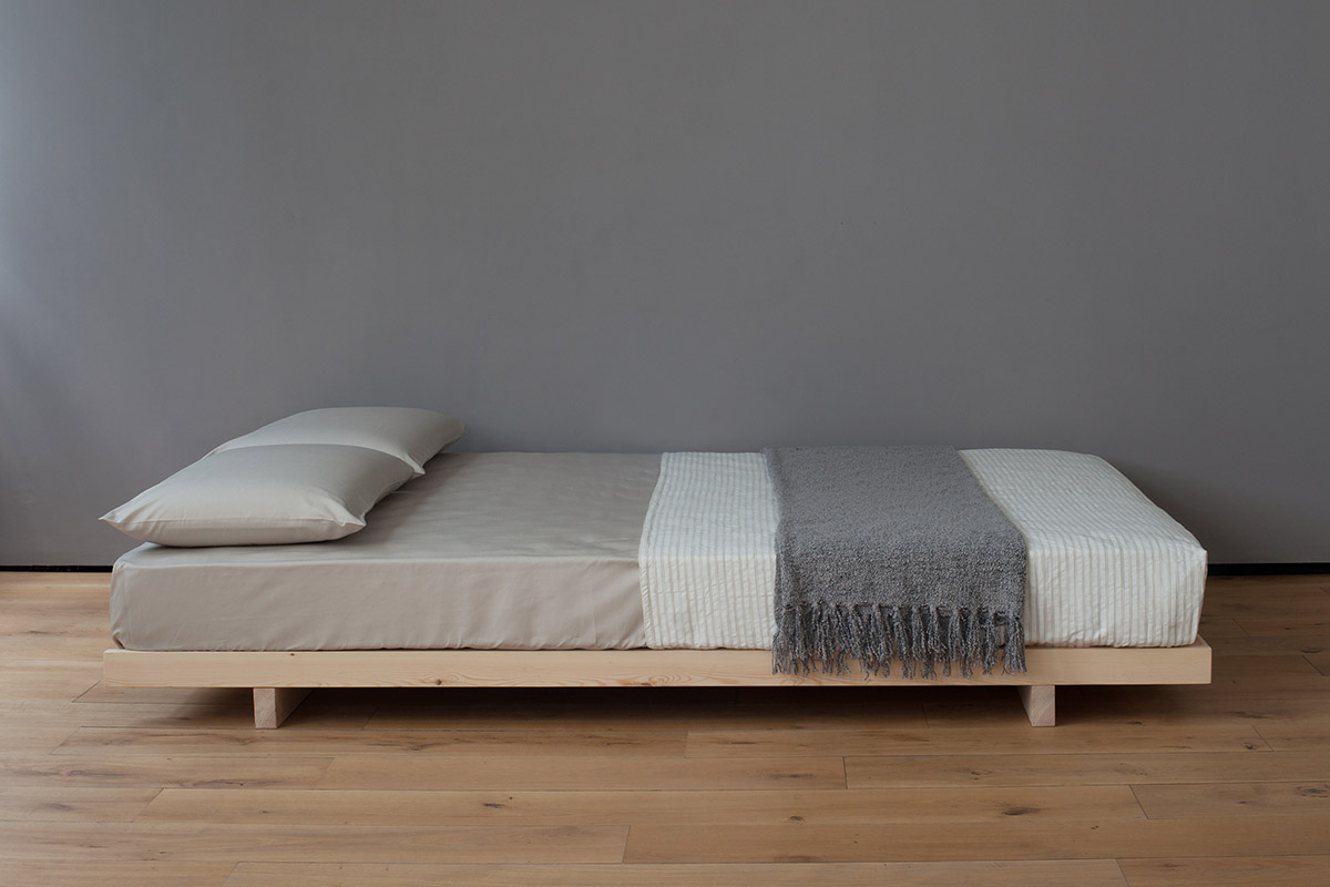 low bed frames kobe | low bed | solid wood | natural bed company IMEYUYD