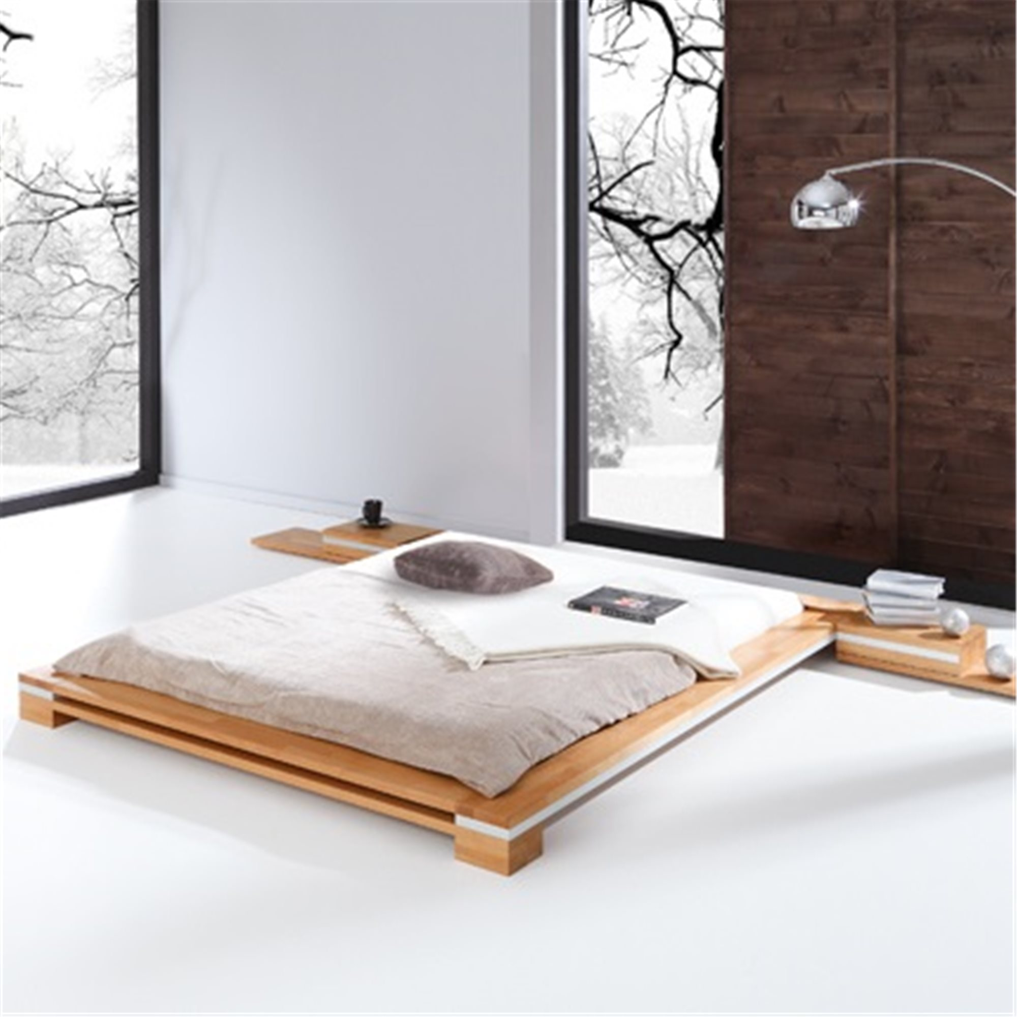 Contemporary Low Bed Frames