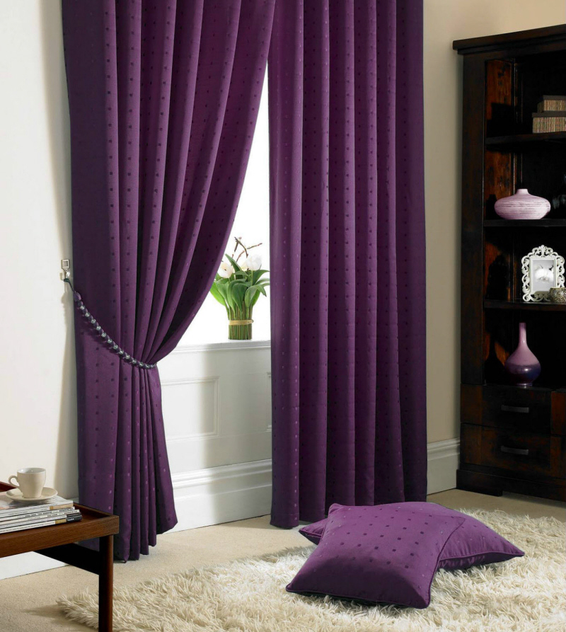 madison purple curtains CCZHQBL