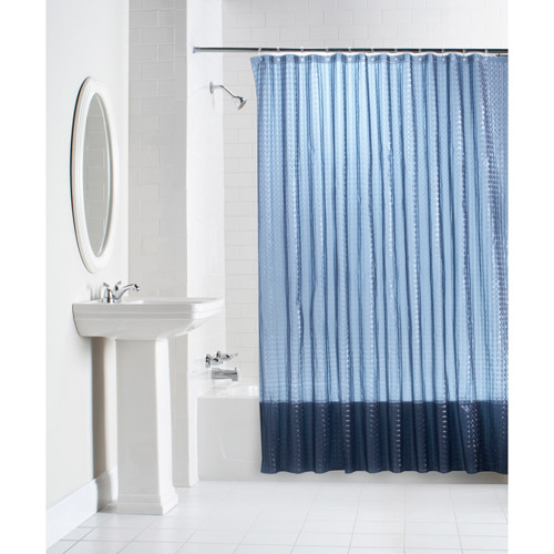 mainstays lenticular solid color peva shower curtain collection VAXAWNX
