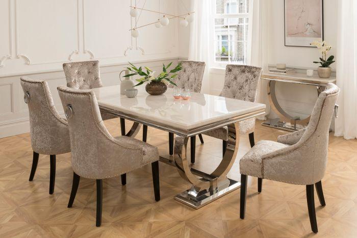 marble dining table creative art ideas | beautifauxcreations.com ~ home PQUGSTI
