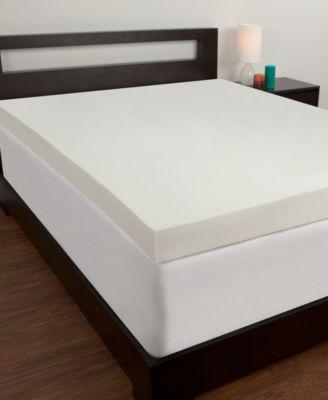 memory foam mattress comfort revolution 4u0027u0027 memory foam twin xl mattress topper TSFUIGP