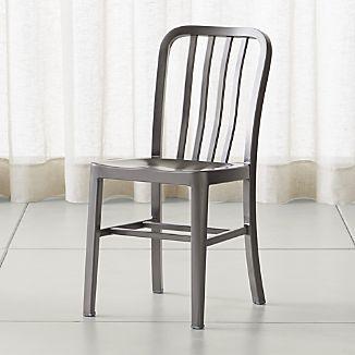 metal chairs delta nickel dining chair MFFNLTT