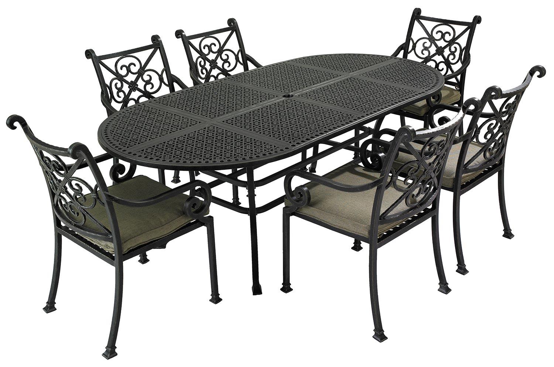 metal furniture metal garden furniture enhances your gardens beauty RZWNJAO