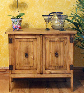 mexican furniture rustic pine collection RHTDTRW