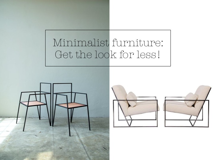 minimalist furniture minimalist u0027skinnyu0027 furniture; get the designer look for less! ESHBGNQ