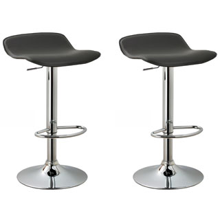 modern bar stools modern adjustable bar stools (set of 2) - 23.5 - 31.5 KEOBVFT