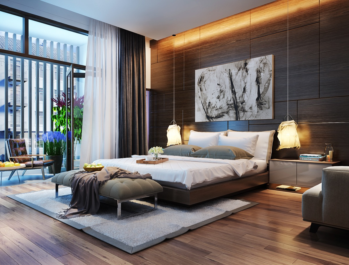 modern bedroom lighting ideas - furnitureanddecors.com/decor APYRJDS