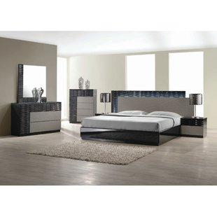 modern bedroom sets kahlil platform 5 piece bedroom set CUFOOKD
