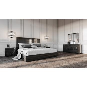 modern bedroom sets modrest ari italian modern grey bedroom set TFKNRQJ