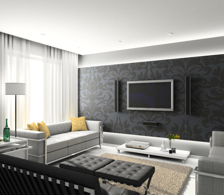 modern decor living room 15 modern living room decorating ideas WLYXAOI
