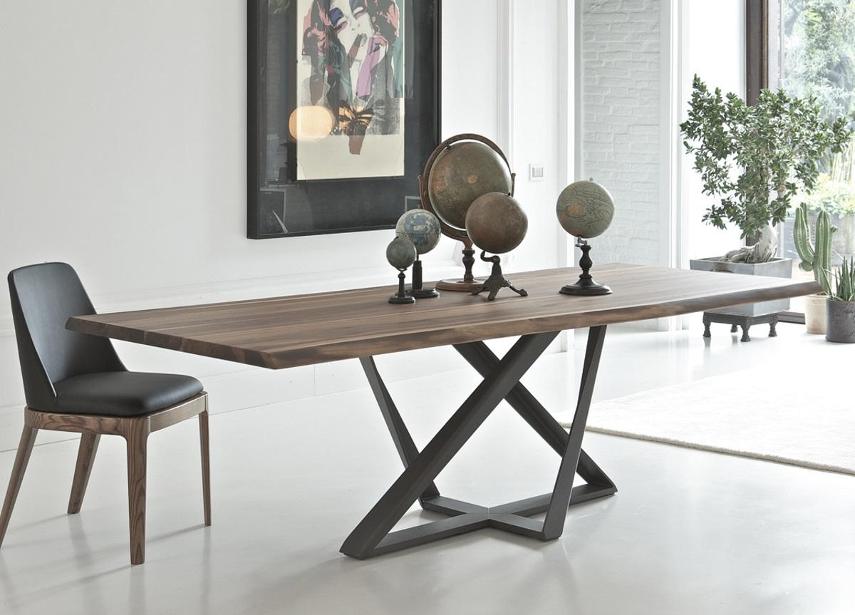 modern dining tables bontempi millennium wood dining table EQKEYPI
