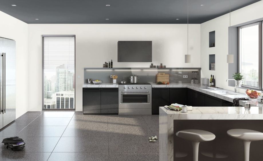 modern kitchen cabinets 8) take out the upper kitchen cabinets for a modern space ONKYCPC