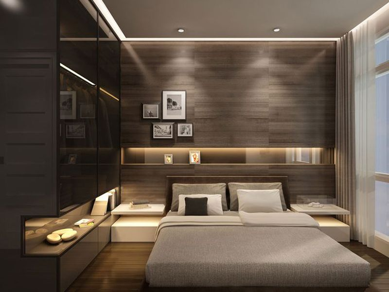 modern small bedroom design ideas 30 modern bedroom design ideas | http://www.designrulz.com/design /2015/10/stylishly-minimalist-bedroom-design-ideas/ ENOVZBY
