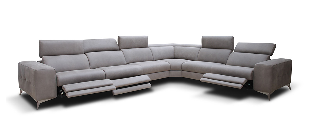 modern sofa recliner contemporary modern reclining sectional for sofas home and textiles with EJKTPNG