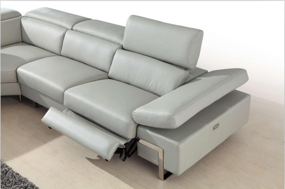 modern sofa recliner mid century modern recliner sofa DAWBXEI