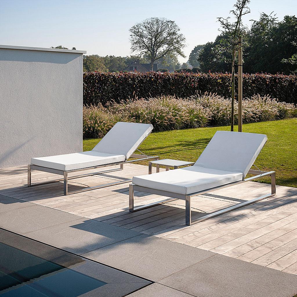 modern sun loungers fueradentro siesta modern sun lounger | minimalist sunbed designed by henk DQUNPSV