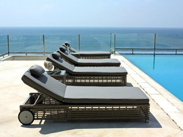 modern sun loungers modern u0026 luxurious sky line design castries sun lounger DJXTWMR