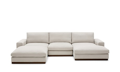 modular sofa holt modular u-sofa bumper sectional OAWSOND