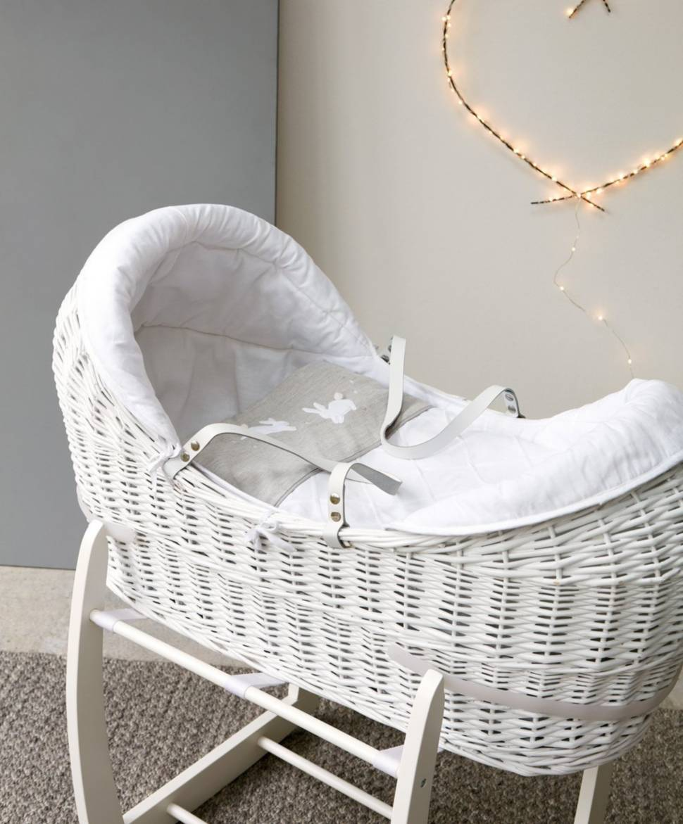 moses basket - welcome to the world OCWWXQF