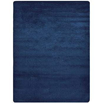 navy blue rug euro collection solid color area rug rugs slip skid resistant rubber KUSDSXS