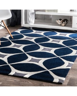 navy blue rug palm canyon kona handmade navy (blue) area rug (6u0027 x 9u0027 IPHRZEN