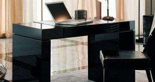 nightfly black home office desk VGLQTPK
