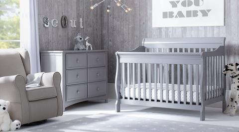nursery furniture sets canton - grey BUWZIGT