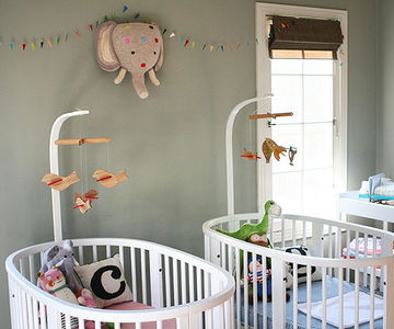 nursery ıdeas twin nursery ideas YZVINRZ