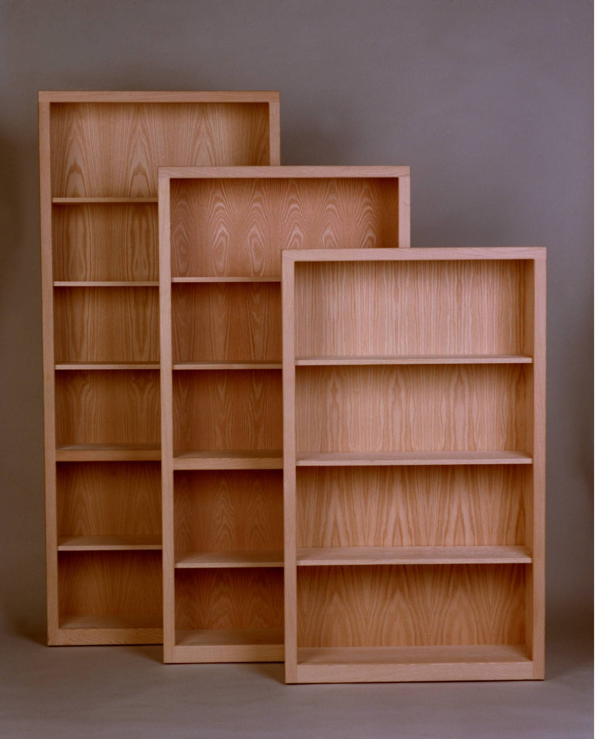 oak bookcase contemporary bookcase 12 SWMBKAU