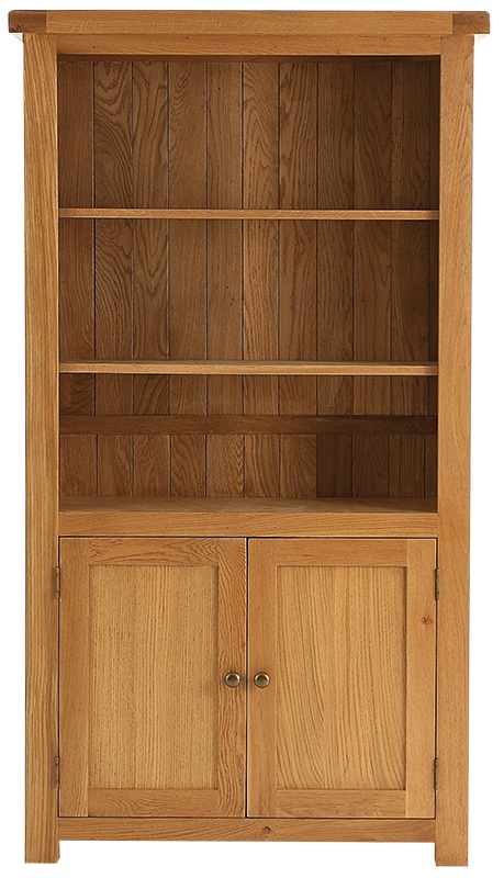 oak bookcase heritage oak large bookcase WEXQOWH
