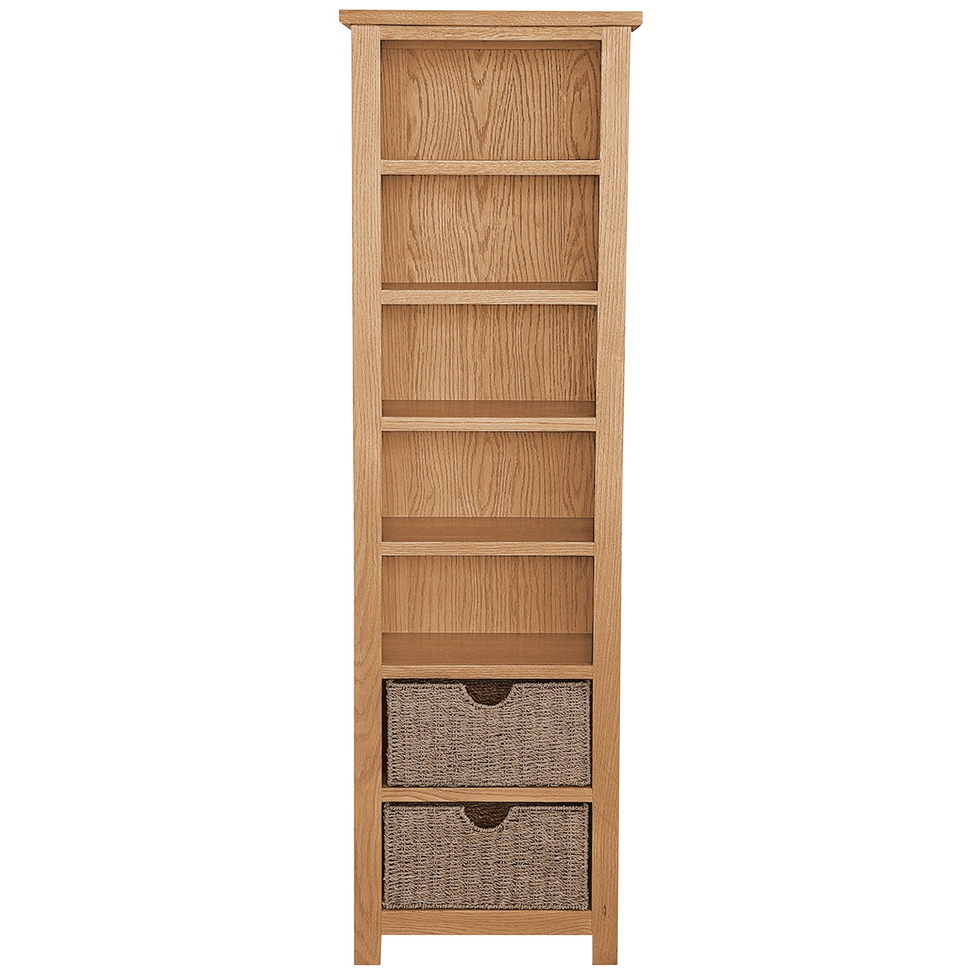 oak bookcase sidmouth oak tall bookcase BRTZHSG