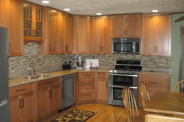 oak kitchen cabinets | dayton door style | cliqstudios contemporary-kitchen IZTXSEH