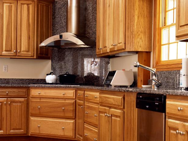 oak kitchen cabinets wood kitchen cabinets HODGEEC