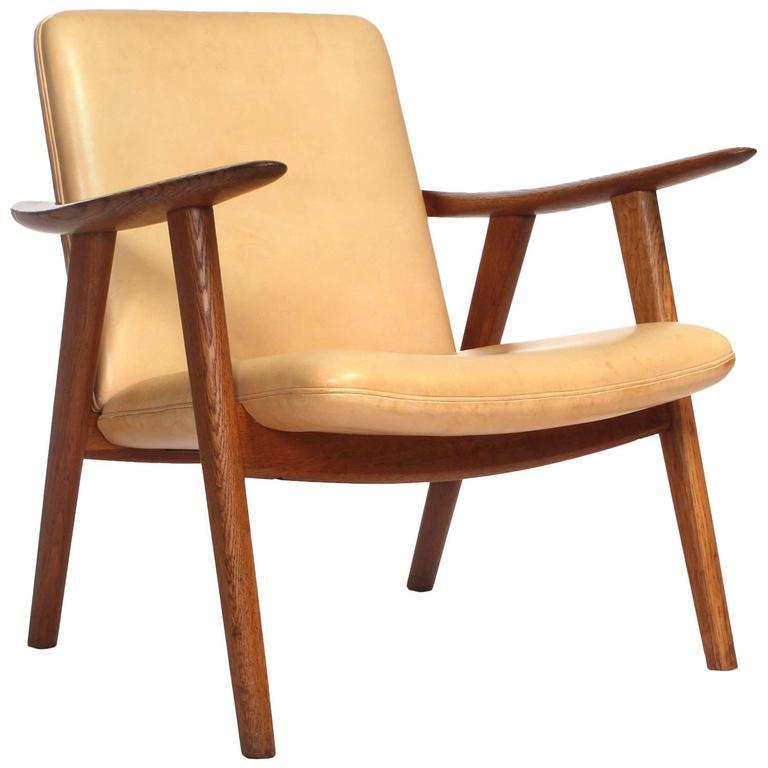 oak reading chair by hans j. wegner for sale GLESRMZ