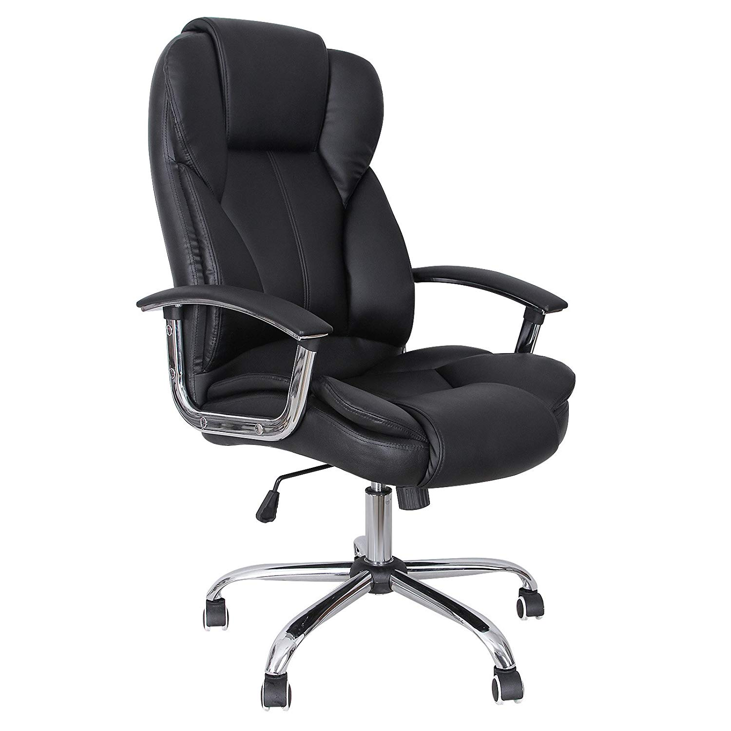 office chairs amazon.com : songmics office chair with high back large seat and TYJYKYI
