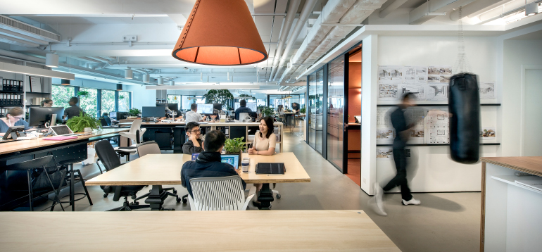 office ınterior design firm: m moser associates. site: hong kong. photography by m moser DOCPCEF