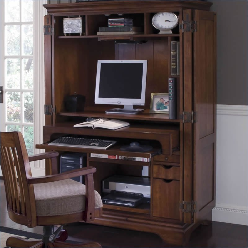 organizing your computer armoire: a step-by-step guide MUCWTGV