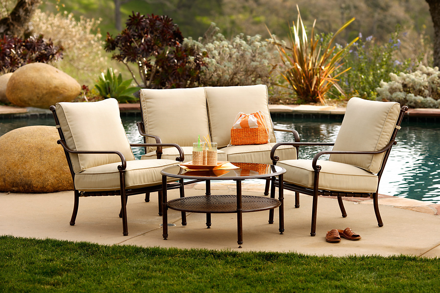 outdoor garden furniture outdoor-patio-furniture WFKOTJA