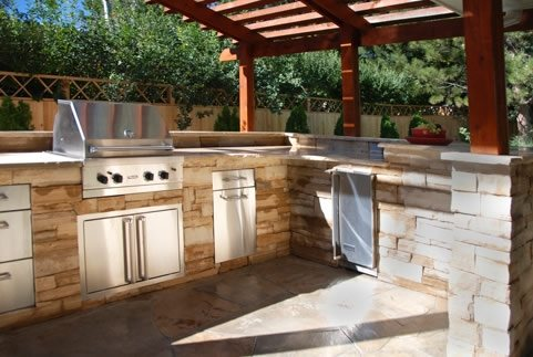 outdoor kitchen designs arcadia design group - centennial, co WQHRVGD