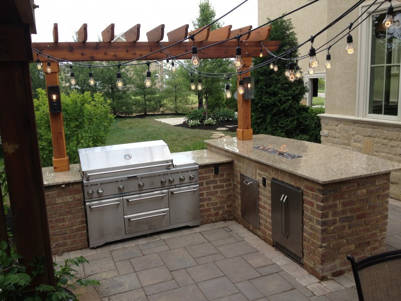 outdoor kitchens outdoor kitchen with fire pit GPAALSF