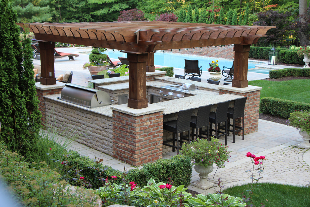 outdoor kitchens TLQZUOG