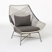 outdoor lounge chairs huron outdoor large lounge chair + cushion ... TIOTWVO