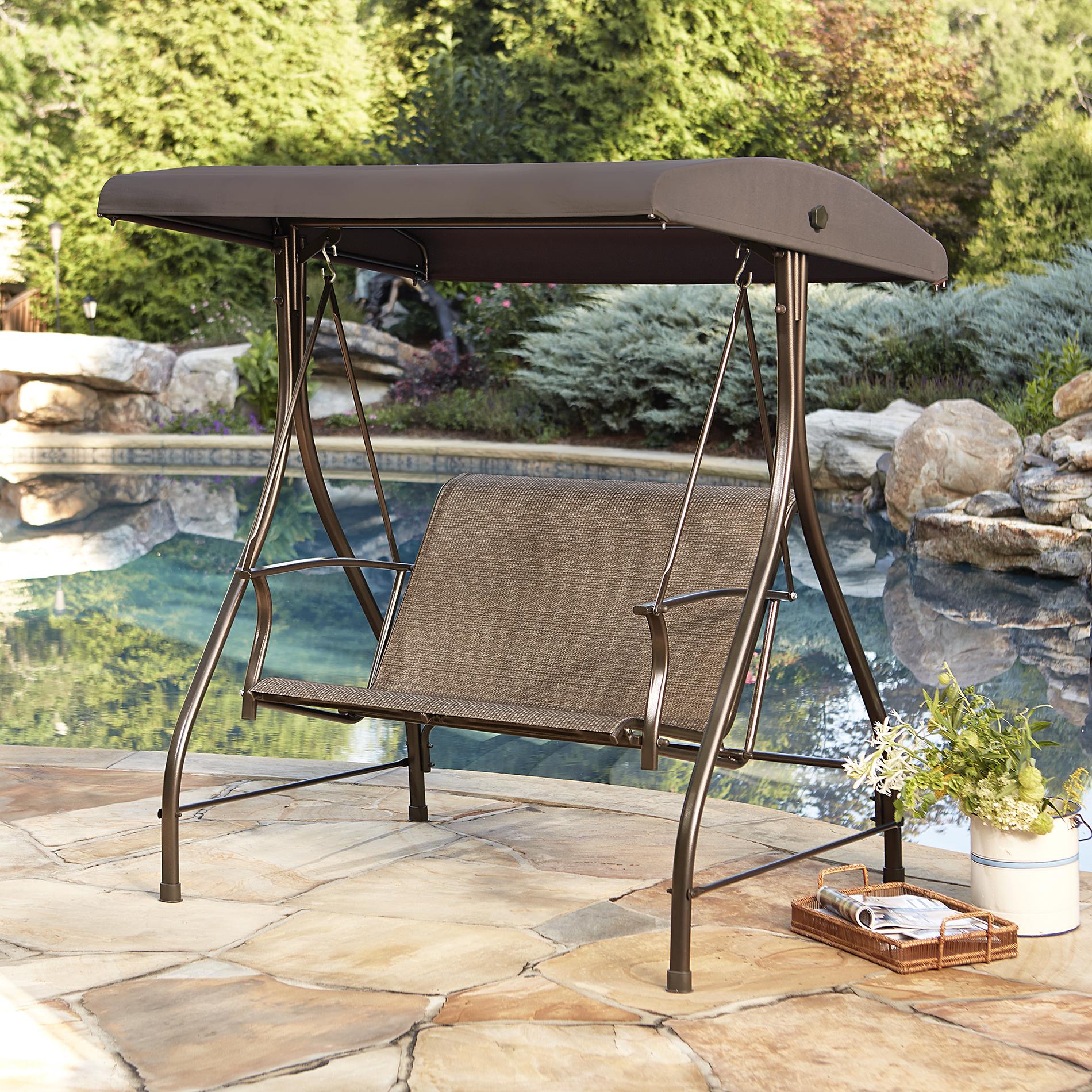 outdoor swings garden oasis harrison 2 seat sling swing *limited availability XMTPUXW