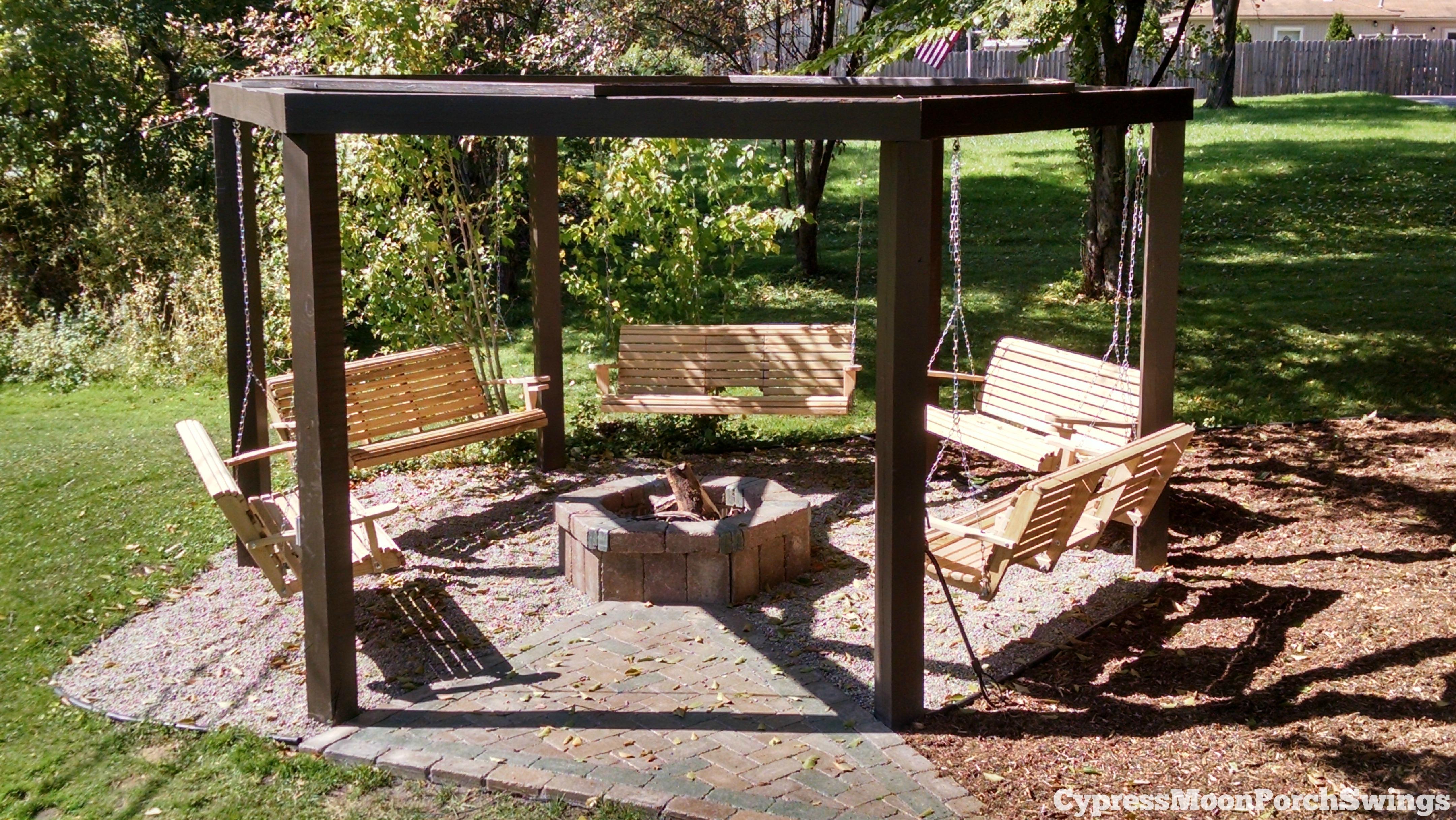 outdoor swings porch swings fire pit circle - porch swings - patio swings GMAFXYV
