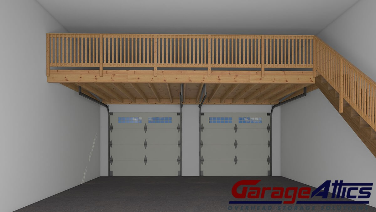 overhead garage storage accessories add overhead garage storage combo kit ESDGLRW