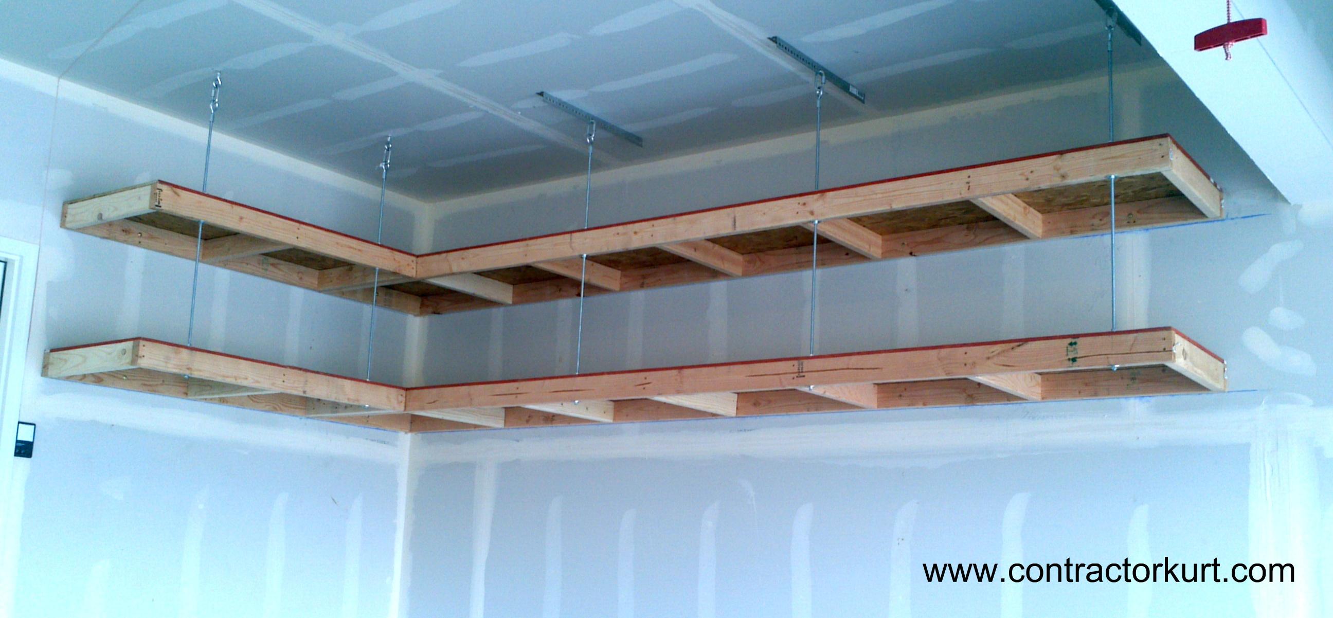 overhead garage storage overhead garage shelves NQUAOEM