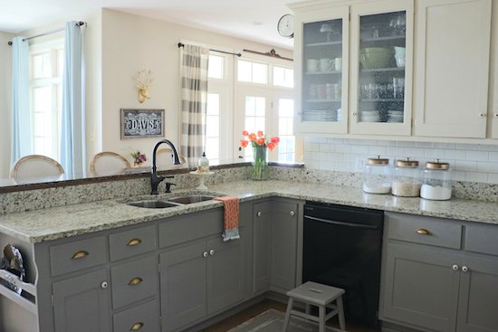 painted kitchen cabinets why i repainted my chalk painted cabinets OCGYGER