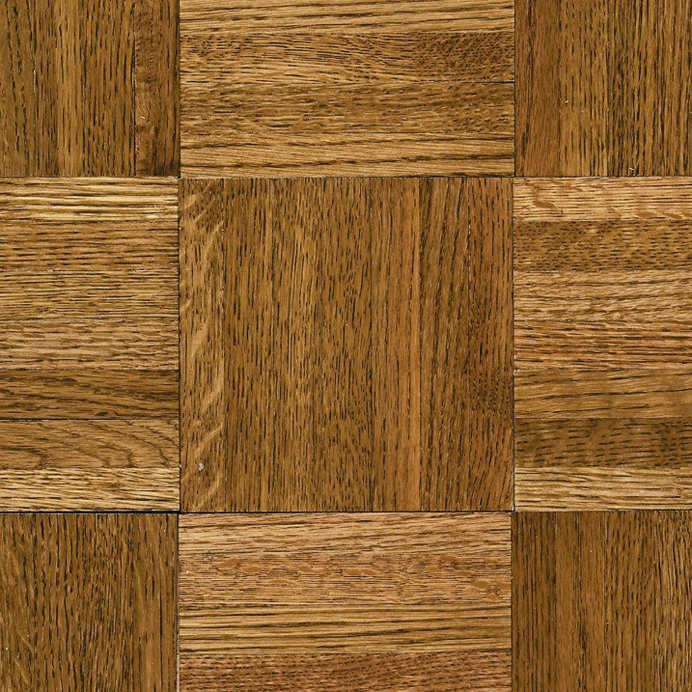 parquet flooring bruce natural oak parquet spice brown 5/16 in. thick x 12 TPKBXVD