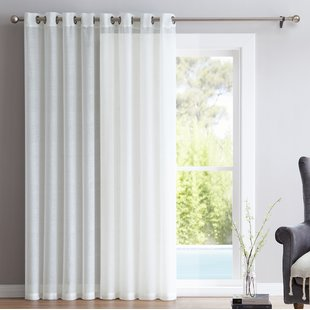 patio door curtains save GDQKHVS